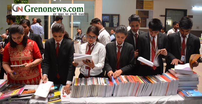 Book Exhibition by G L Bajaj Institute