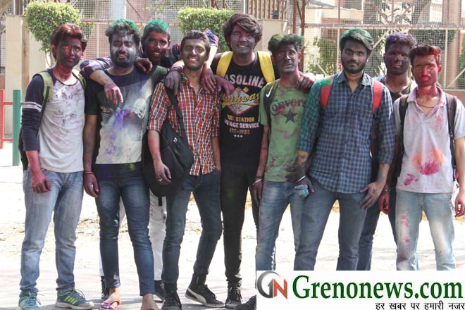 HOLI CELEBRATION IN KNOWLEDGE PARK