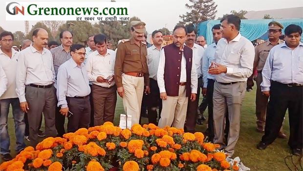 FLOWER SHOW IN GREATER NOIDA