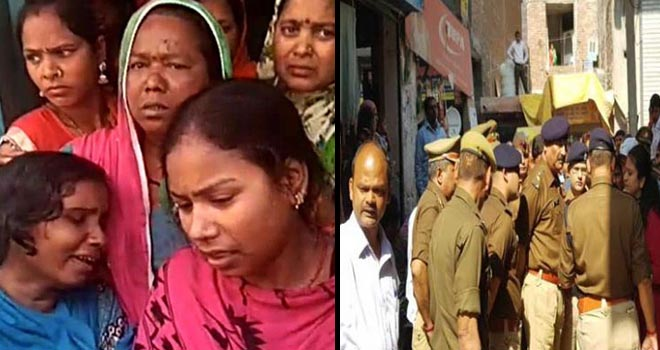 FOUR DIED AFTER DRINKING POISONIOUS ALCOHOL INKHORA COLONY GHAZIABAD