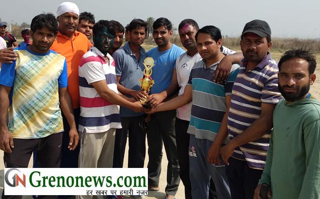 PINKI PINK PANTHER CRICKET TEAM WON SADBHAVNA CRICKET TEAM