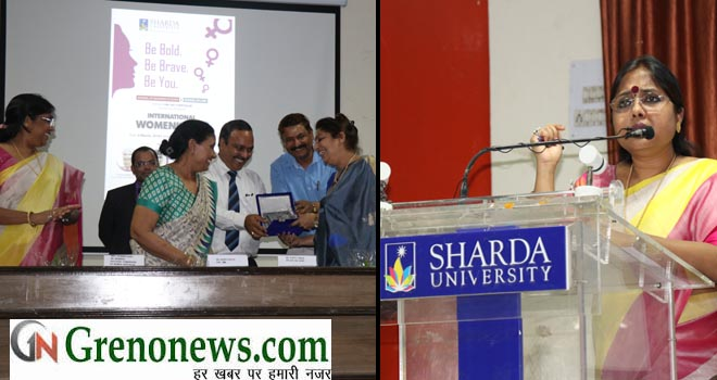 SHARDA UNIVERSITY INTERNATIONAL WOMENS DAY