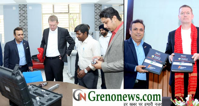 Induction Ceremony, Smart Manufacturing Lab, NIET GREATER NOIDA