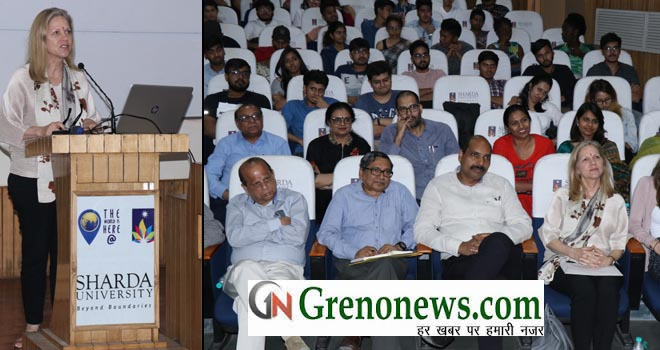 LECTURE ON POWER OF DESIGN IN SHARDA UNIVERSITY