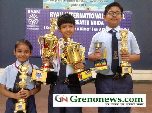 UCMAS State winner from Ryan Greater Noida