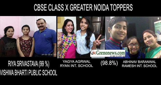 CBSE CLASS 10 TH TOPPERS OF GREATER NOIDA