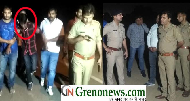 WANTED GANGSTER INJURED IN POLICE ENCOUNTER AT DADRI AREA GREATER NOIDA