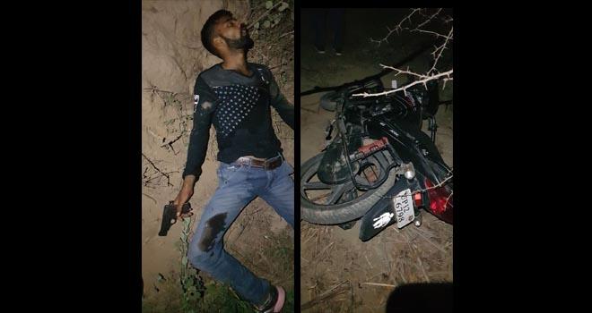 REWARDED CRIMINAL REHAN CHARATHWAL KILLED IN POLICE ENCOUNTER AT MUZAFFARNAGAR UTTAR PRADESH