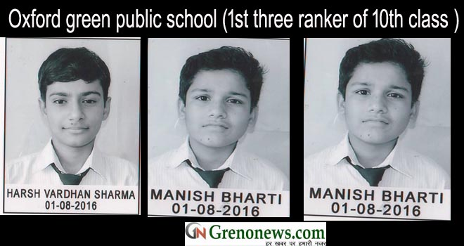 oxford green publi school toppers
