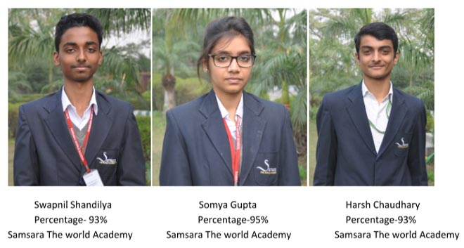 samsara world school cbse 10 th topper