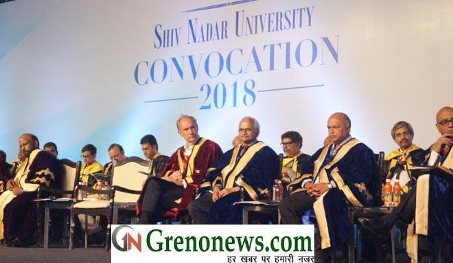 Shiv Nadar University Celebrates Convocation 2018