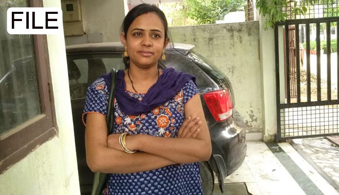 wife of ib inspector file photo greater noida