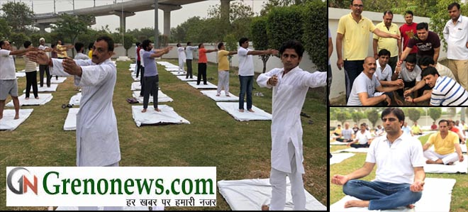 YOGA BY JAN VIKAS MANCH