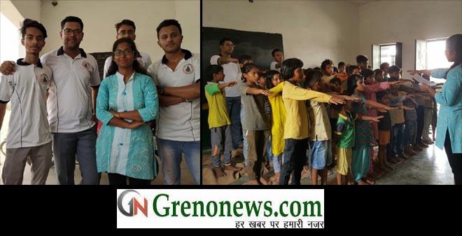GAUTAM BUDHA UNIVERSITY STUDENTS STARTED SWACHHAATA ABHIYAN