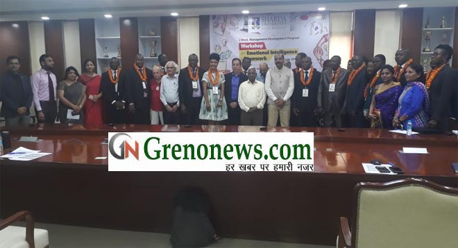 DELEGATES FROM CAMEROON VISITED SHARDA UNIVERSITY FOR MANAGEMENT OF DEVELOPMENT PROGRAME