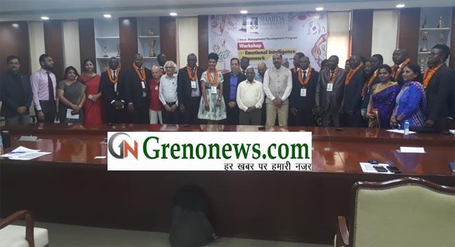 DELEGATES FROM CAMEROON VISITED SHARDA UNIVERSITY FOR MANAGEMENT OF DEVELOPMENT PROGRAME
