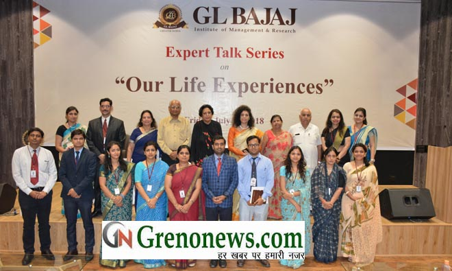 "GL Bajaj Institute of Management and Research, Greater Noida hosted Panel Discussion on ""Our Life Experiences"""
