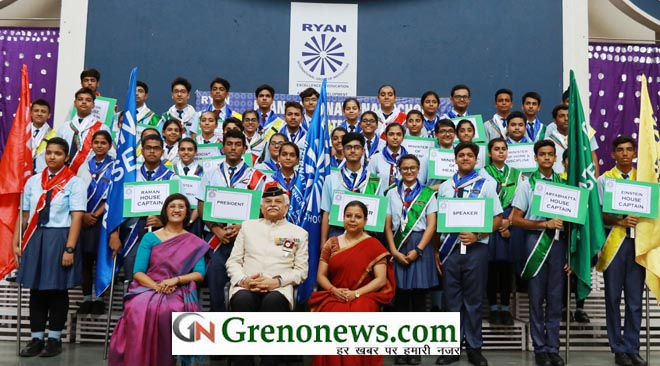 Investiture Ceremony at Ryan International School Greater Noida