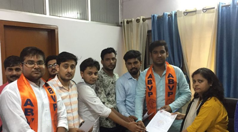 ABVP greater noida have given amendment to DM