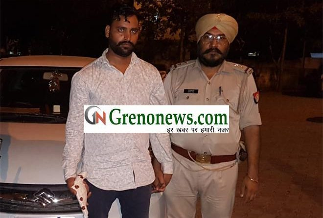 SHARP SHOOTER OF DUJANA GANG ARRESTED IN GREATER NOIDA