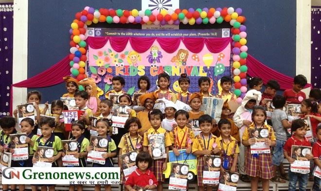 KIDS CARNIVAL AT RYAN GREATER NOIDA