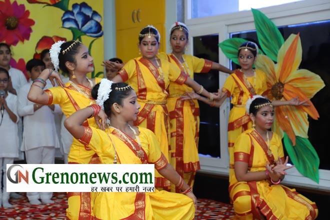 K. R. Mangalam World school Greater Noida Interschool event 'Enchante' 18