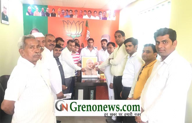 BIRTHDAY CELEBRATION OF PM NARENDRA MODI BY BJP PARTY WORKERS