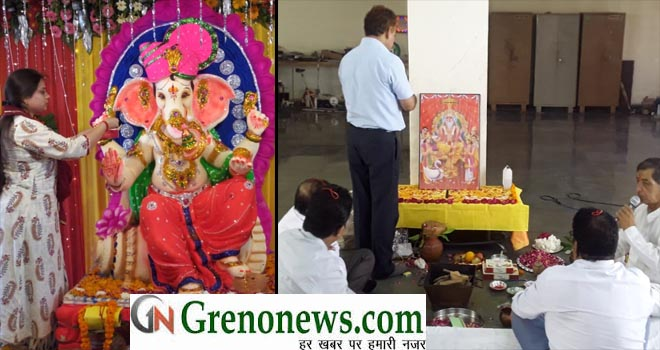 GANESH VISHWKARMA PUJA AT ACCURATE