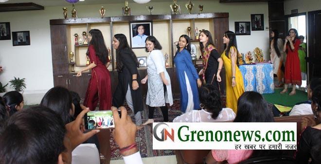 TEACHERS DAY CELEBRATED IN GD GOENKA PUBLIC SCHOOL GREATER NOIDA