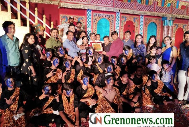 CITY HEART ACADMEY STANDS FIRST IN BHAKTI SANGEET NRITYA PRATIYOGITA VIJAY MAHOTSAV 2018