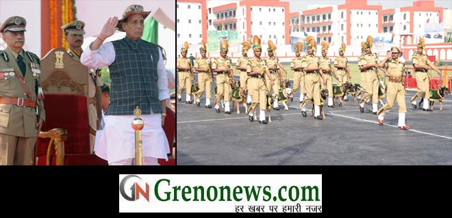 57th Raising Day Parade of ITBP held in Greater Noida