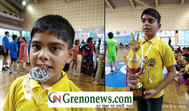 JAID WON SILVER MEDAL IN NATIONAL ROPE SKIPPING COMPETETION
