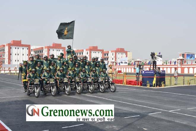 Janbaaz motorcyclists of ITBP