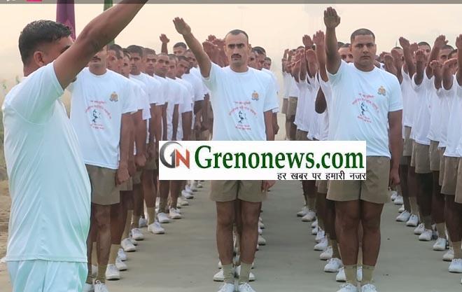 RUN FOR UNITY NOIDA POLICE
