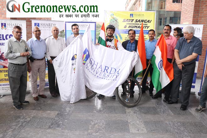 Mr. Rohan Philem student Sharda University will start a 35 days Bi-Cycle journey from Sharda University to Imphal, Manipur covering 12 states a distance of almost 3500 Kms.