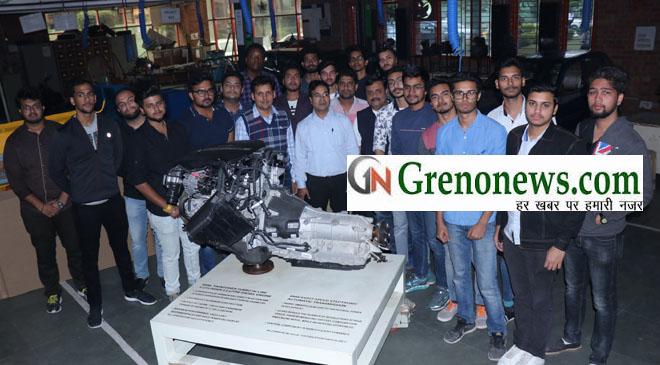 BMW engine for Sharda Students