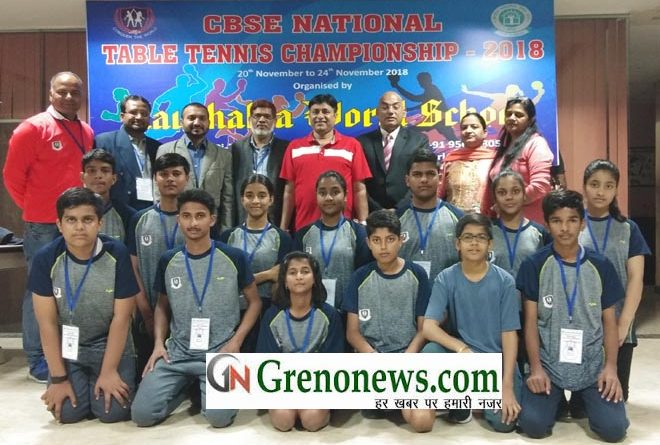 CBSE TT NATIONAL CHAMPIONSHIP