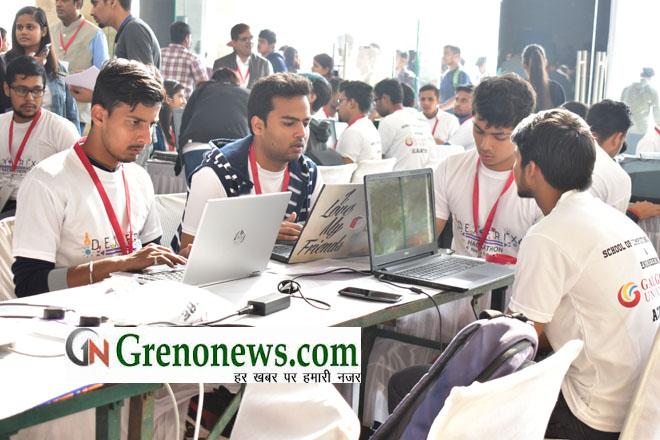 GALGOTIA UNIVERSITY conducted a Hackathon named DEXTERIX
