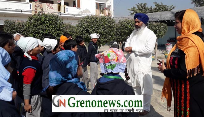 GURUPARV CELEBRATED BY GRADS INTERNATIONAL SCHOOL