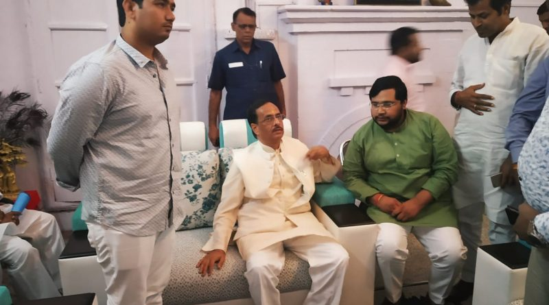 deputy chief minister dinesh sharma & risabh raj sharma