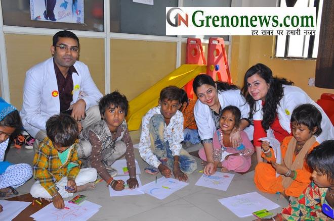 Children's Day celebration at I.T.S Dental College, Greater Noida