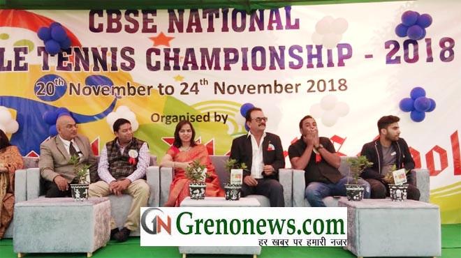 CBSE NATIONAL TT CHAMPIONSHIP 2018 AT KAUSHLYA WORLD SCHOOL GREATER NOIDA