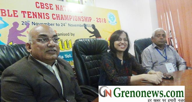 CBSE NATIONAL TT CHAMPIONSHIP AT KAUSHLYA WORLD SCHOOL GREATER NOIDA FROM 20 th NOVEMBER