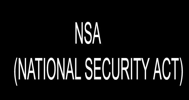 NSA (NATIONAL SECURITY ACT)