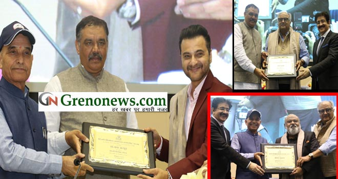 Sanjay Kapoor honored with Hindi cinema Rattan Samman