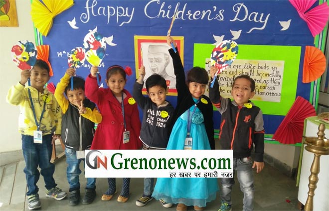 CHILDRENS DAY CELEBRATED IN APPEJAY INTERNATIONAL SCHOOL GREATER NOIDA