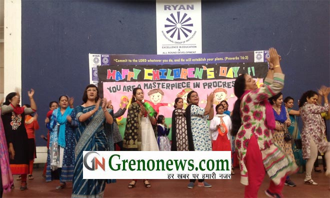 CHILDRENS DAY CELEBRATED IN RYAN  INTERNATIONAL SCHOOL