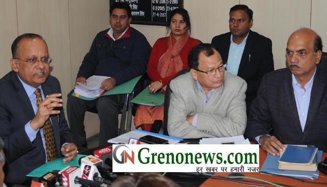 WITHOUT OCCUPANCY CERTIFICATE REGISTRY CAN BE DON IN NOIDA GAUTAMBUDH NAGAR SAID DM B.N. SINGH - GRENONEWS