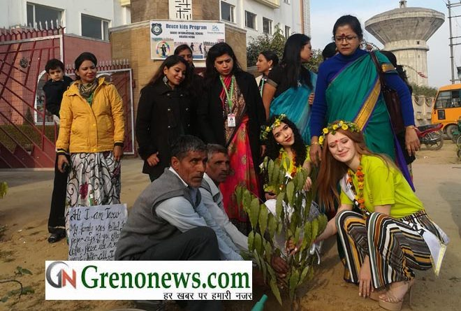 Grads International School has hosted Miss Teen International Environmental Seminar