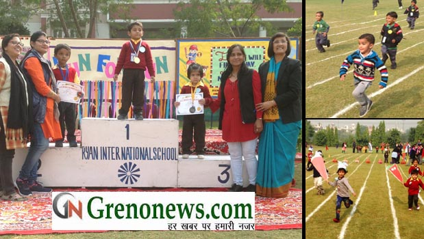 RUN FOR FUN – AN INTER SCHOOL ATHELETIC MEET AT RYAN GREATER NOIDA